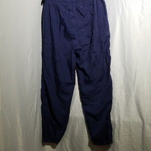 adidas Pants - Adidas  joggers in navy blue, zipper hems Men's